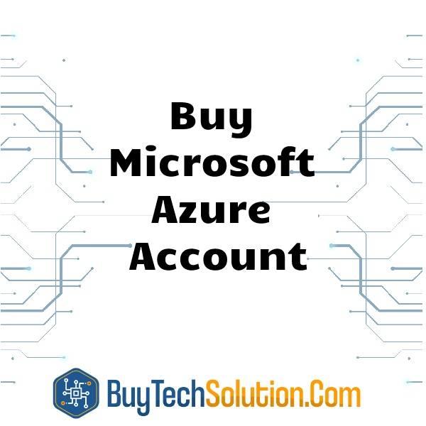 Buy Microsoft Azure Account