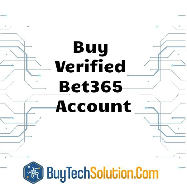 Buy Verified Bet365 Account