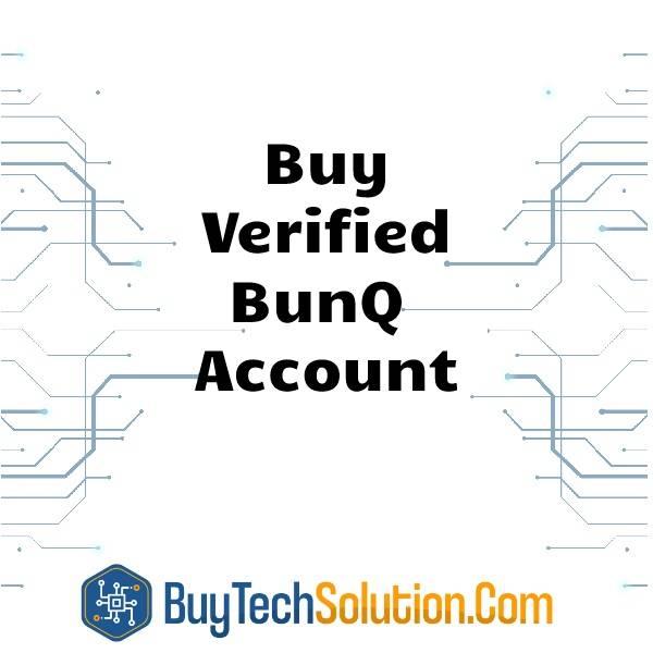 Buy Verified BunQ Account