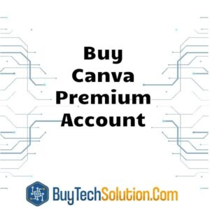 Buy Canva Premium Account