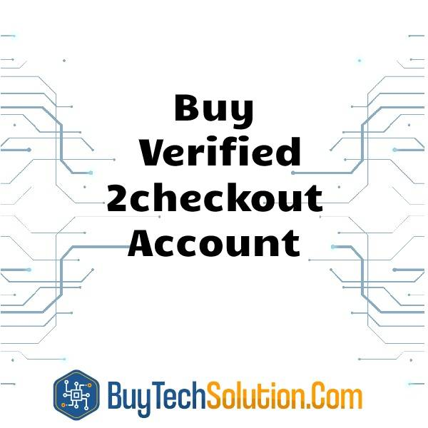 Buy Verified 2checkout Account