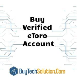 Buy Verified eToro Account