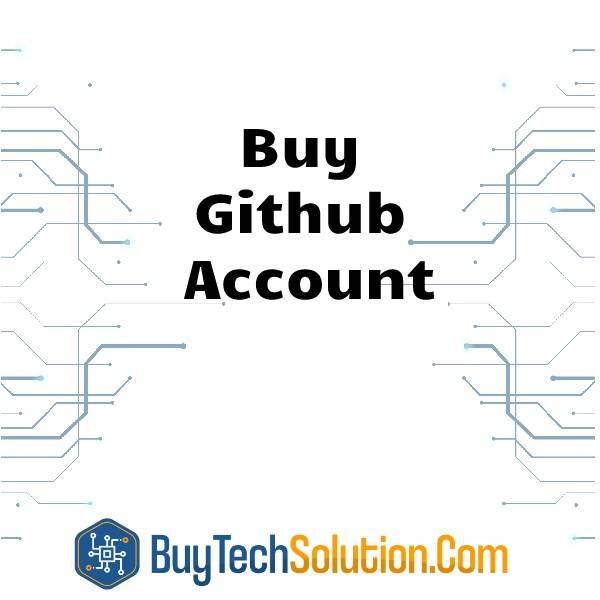 Buy Github Account