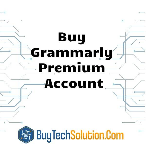 Buy Grammerly Premium Account