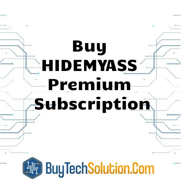 Buy HIDEMYASS Premium Subscription