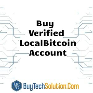 Buy Verified LocalBitcoin Account