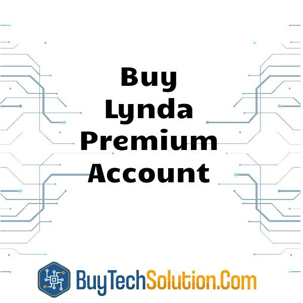 Buy Lynda Premium Account