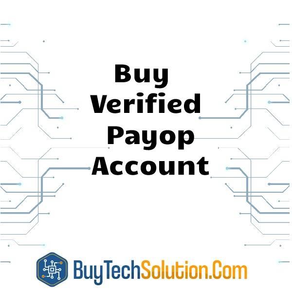 Buy Verified Payop Account