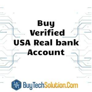 Buy Verified USA Real bank Account