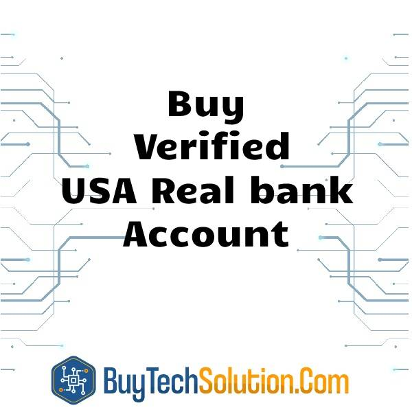 Buy Verified USA Real bank Account