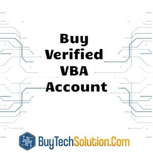 Buy Verified VBA Account