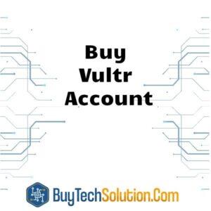 Buy Vultr Account