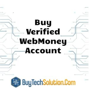 Buy Verified WebMoney Account