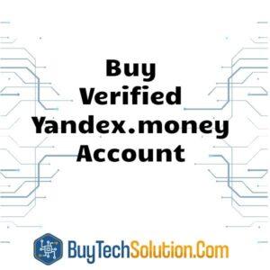 Buy Verified Yandex.money Account