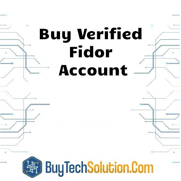 Buy Fidor Account