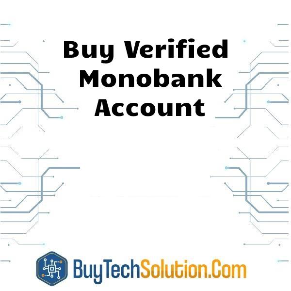 Buy Monobank Account