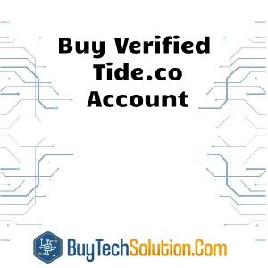 Buy Tide.co Account