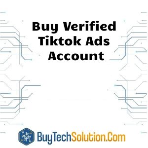 Buy Tiktok Ads Account