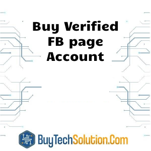 Buy FB page Account