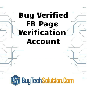 Buy FB Page verification Account
