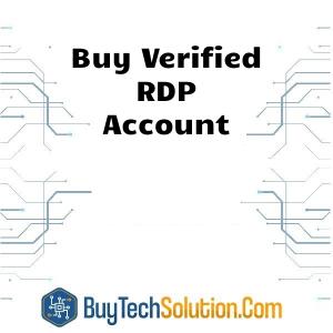 Buy RDP Account