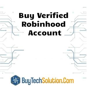Buy Robinhood Account