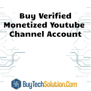 Buy Monetized Youtube Channel Account