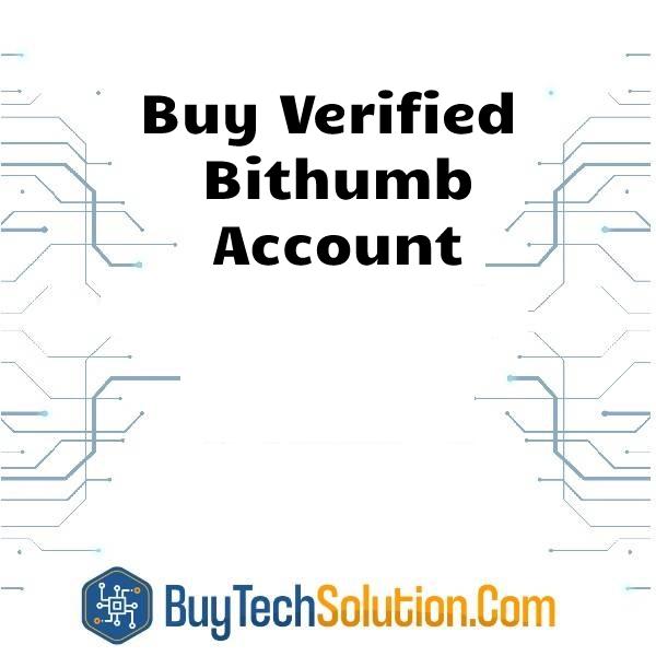 Buy Bithumb Account